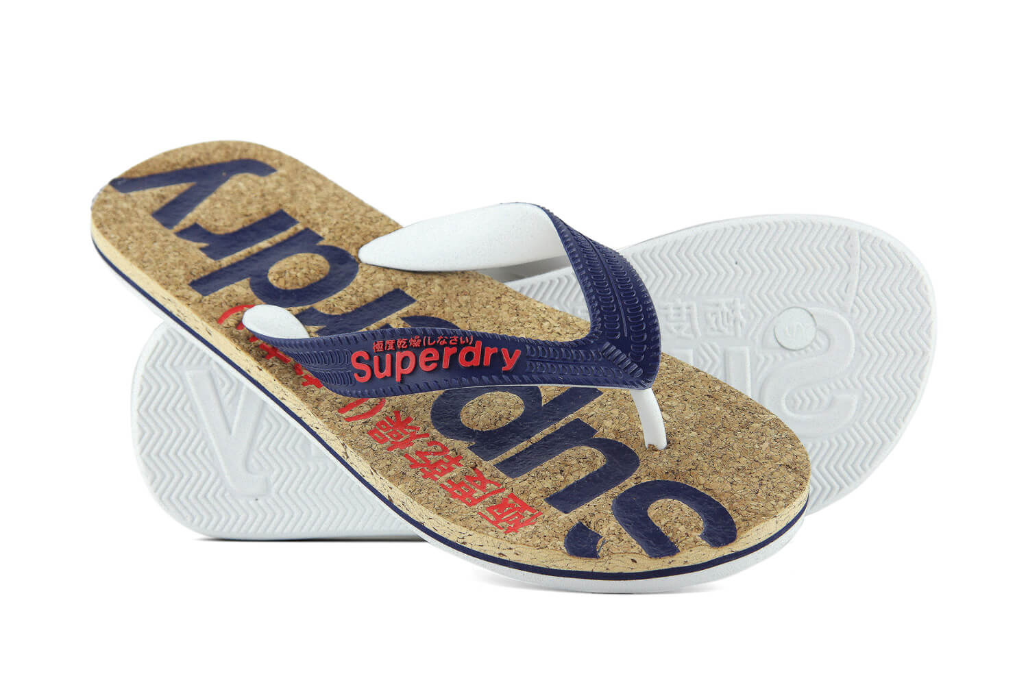 Mf3002so Superdry Cork Color Flip Flop Wer